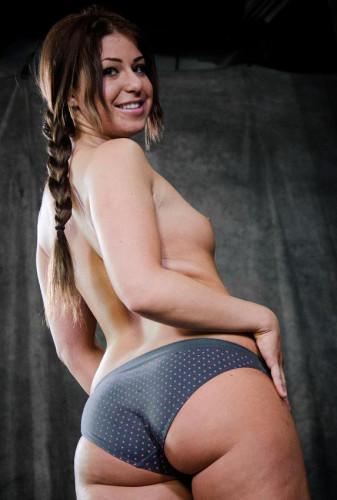 Natural bitch in hot BDSM
