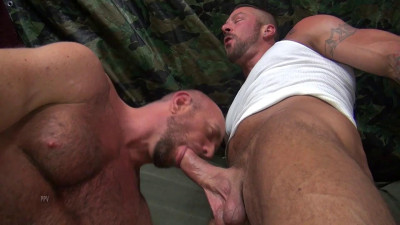 Hugh Hunter and Matt Stevens