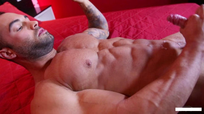 Calvin's Peak Week - gay swart, muscles, gay bed.