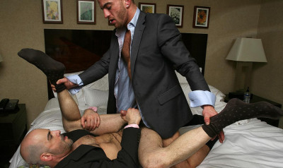 ManHandled - Steve Vex & Adam Russo in Business ASS-quistion