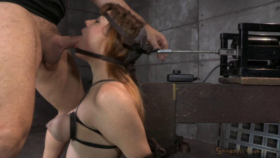 Jessica Ryan in Strict Bondage on Sybian