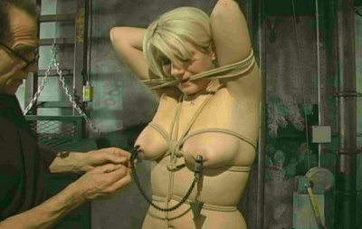 Submissive Blonde Kimberly