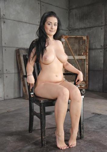 All natural newbie Katrina Jade fucked hard by two dicks , HD 720p