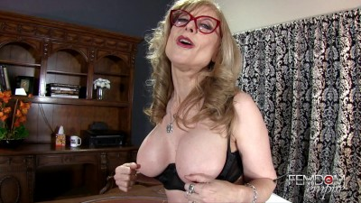 Nina Hartley Job Interview Joi Test 1080 (2016)
