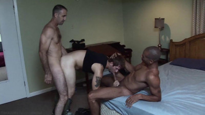 Man brutally fucked in the ass