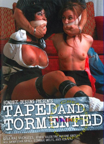 Bondagedesigns,-Tapped And Tormented