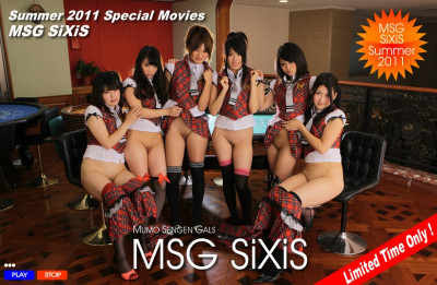 Kanulau@G-Queen - Mumo Sengen Gals - SiXiS (MSG SiXiS) (Special Edition / Summer 2011)