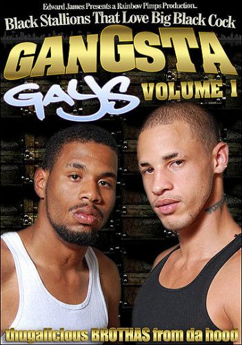 Gangsta Gays Volume 1 - Black Stallions