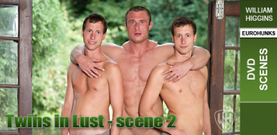 WHiggins - Twins In Lust - Scene 2 - Dvd Scenes - 09-01-2011