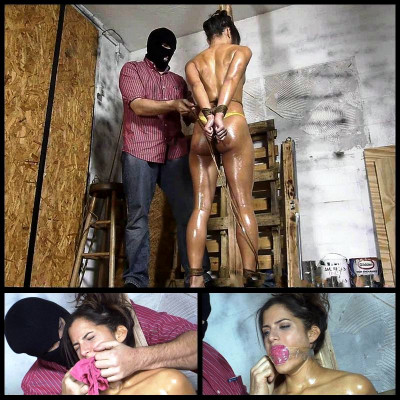 Chi Chi Oiled Crotch Roped Then Crotch Taped # 1 - FS