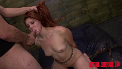 Rose Red Tyrell's Multiple Orgasms With The Sybian And Rough Anal Sex (2015)