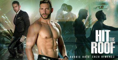 Robbie Rojo, Enzo Rimenez - anal, outdoor, anal sex!
