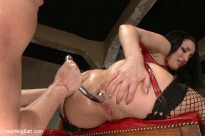 Smothered By A Fisted Ass. Beautiful Gabriella Paltrova Takes ALL Of Darling's Ass