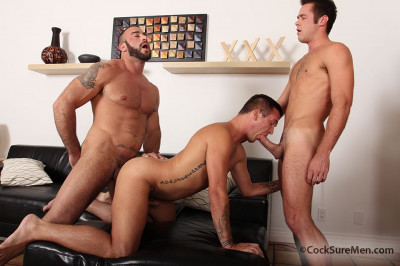 Spencer Reed, Brody Wilde & Mike DeMarko