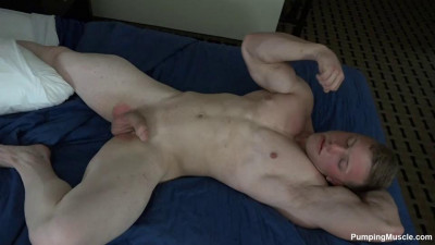 Pumping Muscle - Atticus C Photoshoot 3