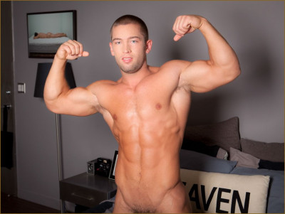 Evan Shaw is a muscle bound hunk
