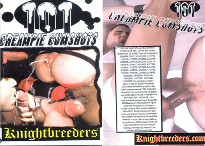 Knightbreeders – 101 Creampie Cumshots (2011)