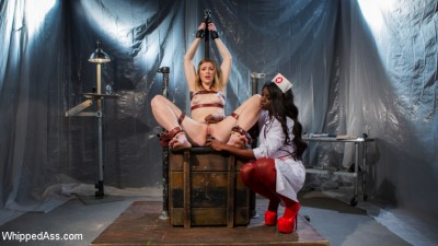 Ella Nova Desperately Needs Anal Lesbian Medical Therapy