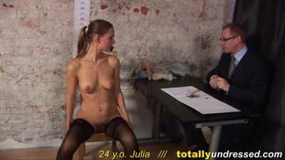 Totally Undressed - Julia 24 y.o.