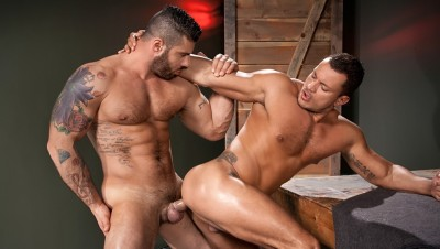 RStallion - Throb, scene 01 - Alex Marte, Angelo Marconi