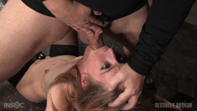 Mona Wales – Stunningly Sexy Slut Blindfolded And Throat Trained By 3 Cocks (2016)