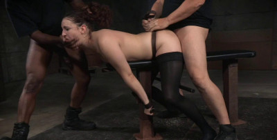 Endza Is Roughly Fucked Without Mercy By Hard Cock