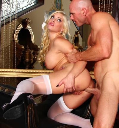 His Cock Balls Deep In Her Hot Ass
