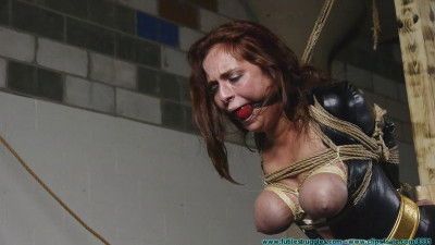 Superheroines Revenge Gone Awry - Table Tied and Tits Tied