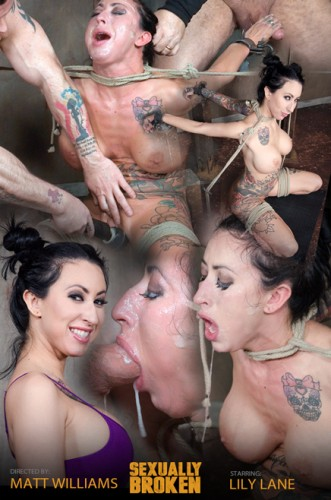 Lily lane - Destroyed by a brutal face fucking, while being made to cum over and over! (2017)