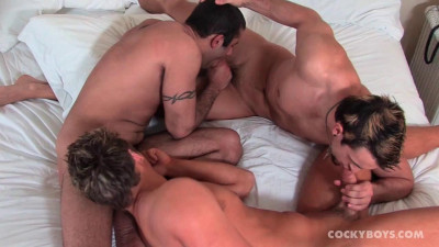 CockyBoys - Phenix, Jason & Andrew