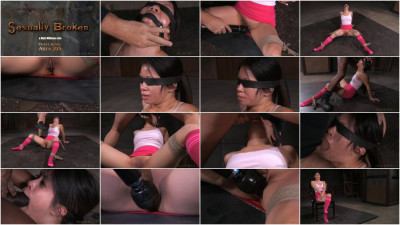 Asia Zo Tries Bondage For The First Time, Brutal Drooling Deepthroat On BBC