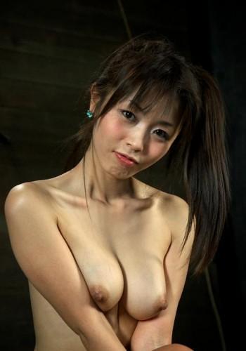 Little Japanese girl in hot BDSM