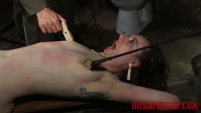 Nadja Endure BDSM Imprisonment Torment with Clothespins Mouse Traps (2015)