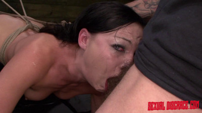 SD – February 5, 2015 – Nikki Bell Continues Fucking Machine Rope Bondage For Her Master's Cum