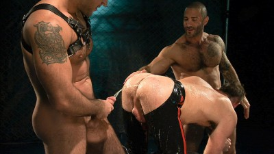 Junior Stellano, Tibor Wolfe, and Spencer Reed - Fist Deep Scene 3