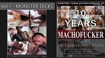 10 Years of Machofucker , unfettered fucking gay cum.