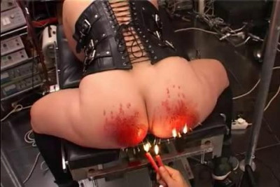 Beating and ignition asses and boobs (2014)
