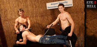 Airport security Roman Mirek and Kamil