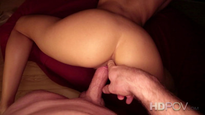 Fucking With Round Ass Brunette 1