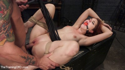 Redhead Spanish Slave Training – Amarna Miller Day 3