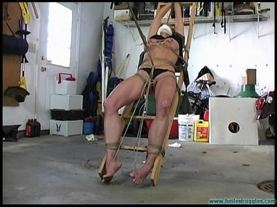 Mandy K shown More restraint - Crotchroped - Parts 1-2