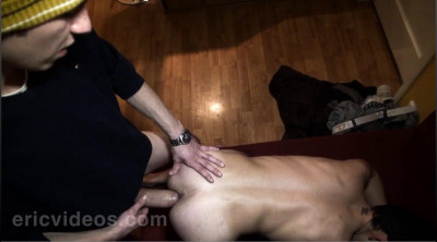Ricky gets plowed and filled up by David's 9,4in dick