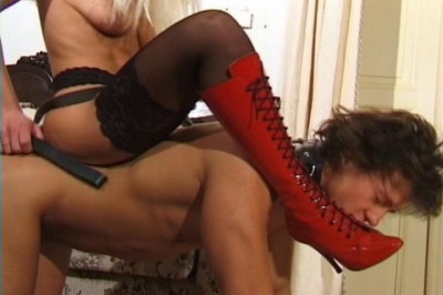 Mistress and Red Boots