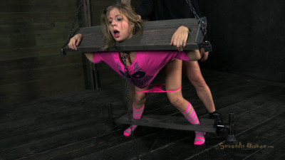 SB - Little Chastity Lynn is roughly fucked in pink! - HD