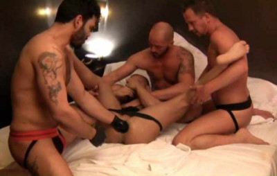 Hole Punchers In Rough Gangbang