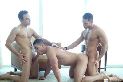 Three Cocks for Fun (Marc Dylan)