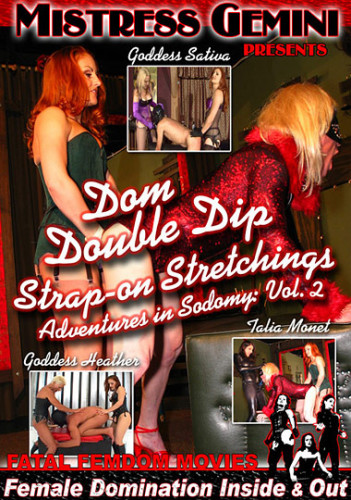 Dom Double Dip Strap-On Stretchings