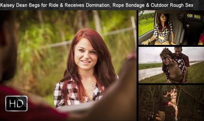 SexualDisgrace - SexualDisgrace - Nov 26, 2014 - Kaisey Dean Begs for Ride