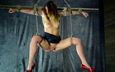 Innocent Girl Turned into a Bondage Slut