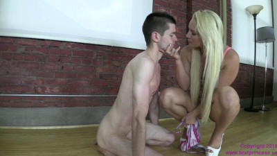 Cali Carter — Chastity Slave Dresses its Princess